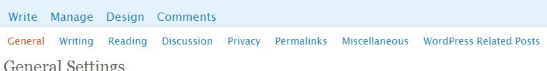 WPRP dentro de settings