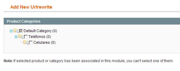 Reescritura de URL para Categorías en Magento