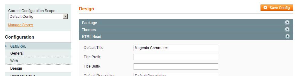 Nuevas opciones para el header de Magento