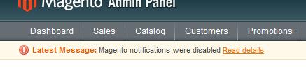 Resultado del feed de Notificaciones personalizado