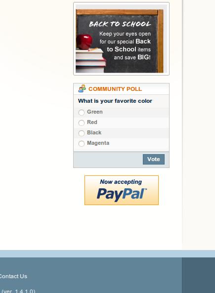 Paypal en el frontend de Magento
