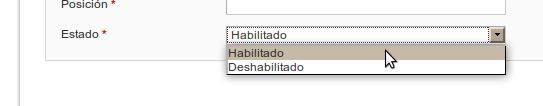 Dropdown en un formulario de backend en Magento