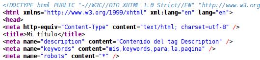 Agregamos los valores específicos para los tags de nuestro módulo en Magento