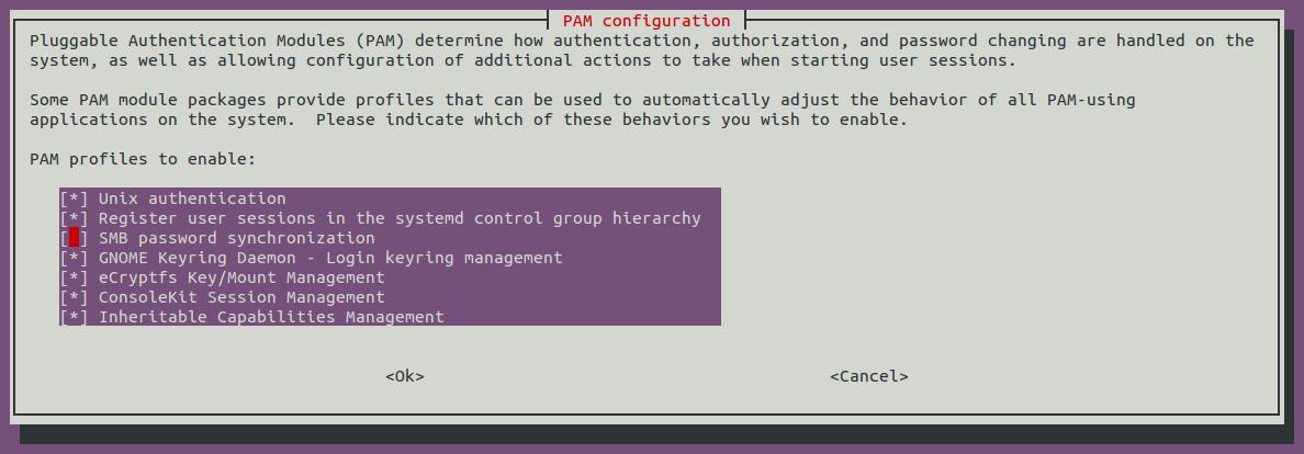 Configuración PAM en Ubuntu