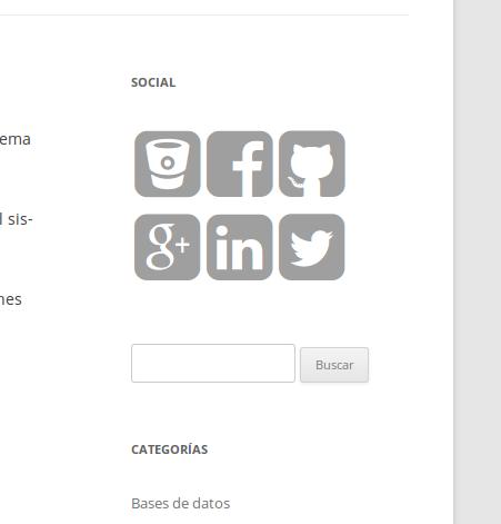 Widget de Dc_SocialLinks
