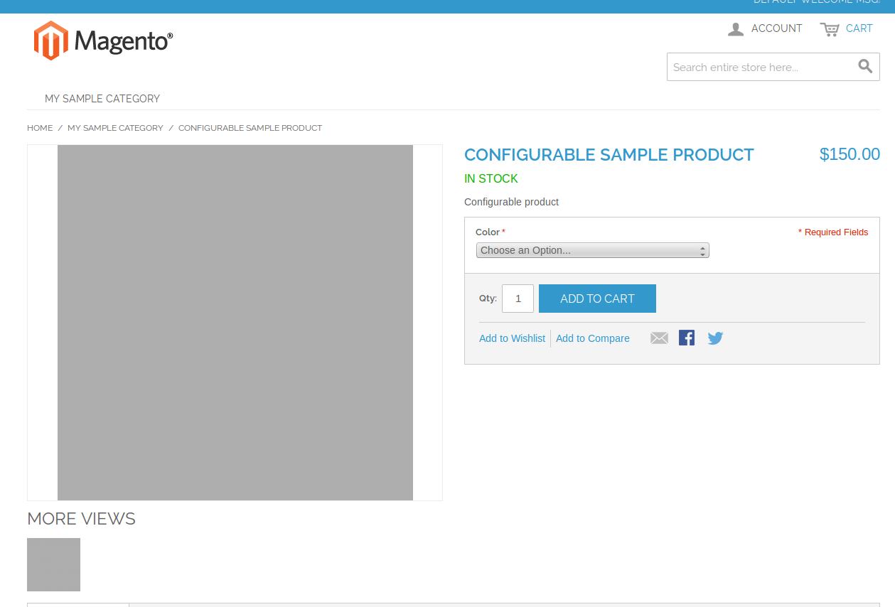 Producto Configurable en Magento