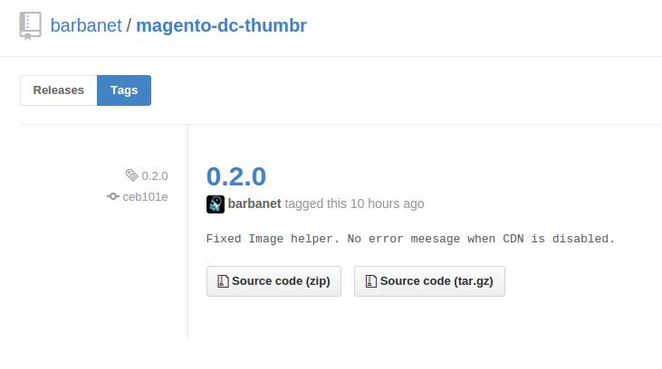 Versión 0.2.0 de Dc_Thumbr en GitHub
