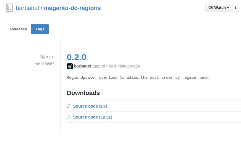 ersión 0.2.0 de Dc_Regions para Magento