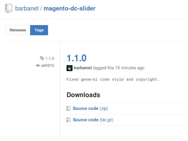 Dc_Slider 1.1.0 para Magento