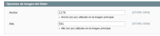 Configuración de Dc_Slider para Magento