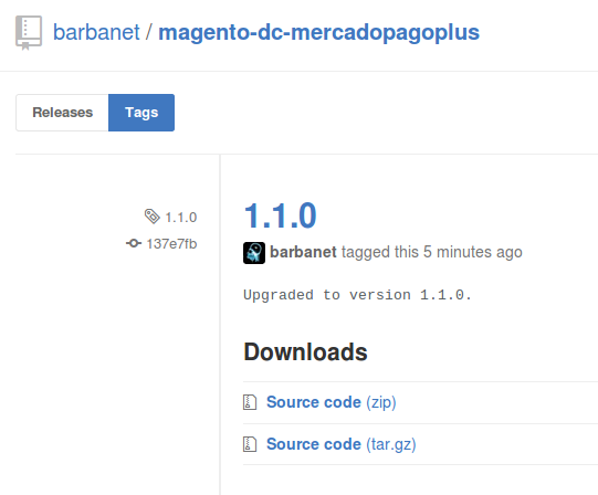 Dc_MercadoPagoPlus 1.1.0 para Magento