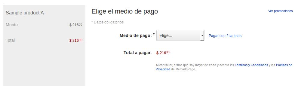 Compra con MercadoPago en Magento