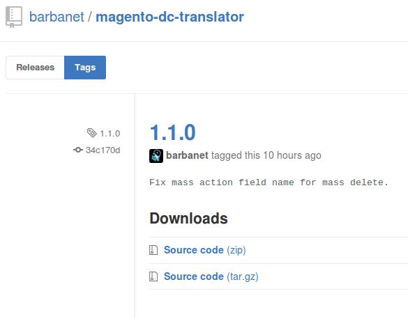 Dc_Translator 1.1.0 para Magento