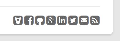 Widget de Dc_SocialLinks en el footer