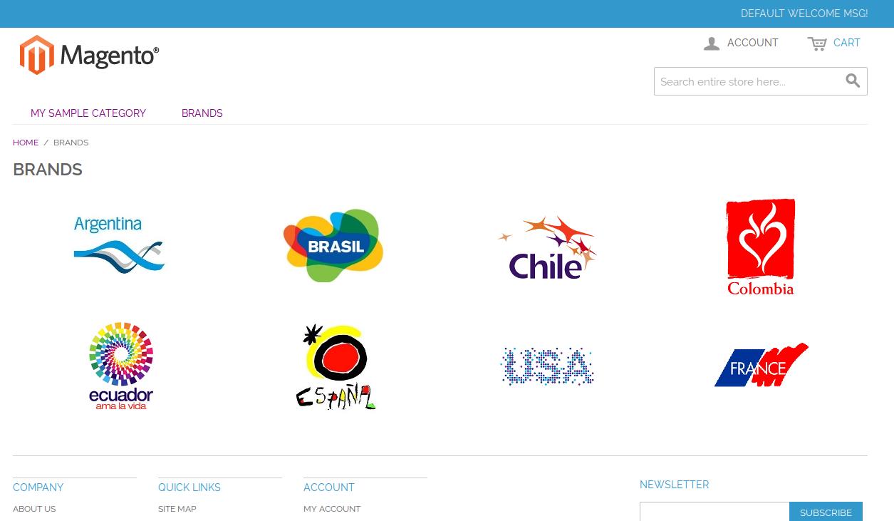 Visualización de marcas con Dc_BrandManager
