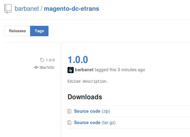 Dc_Etrans 1.0.0 para Magento