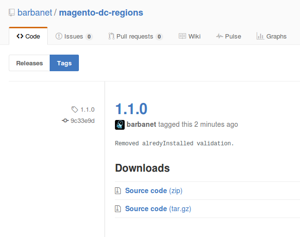 Dc_Regions 1.1.0 para Magento