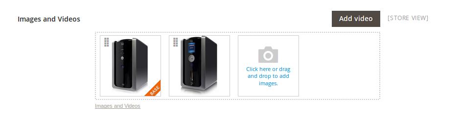 Agregando imágenes a un Producto en Magento2
