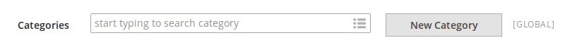 Asignación de categorías en Magento2
