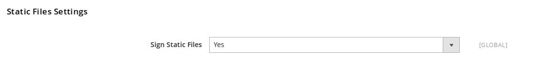 Opciones de versionado de archivos estáticos en Magento2