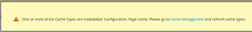 Notificaciones Magento2