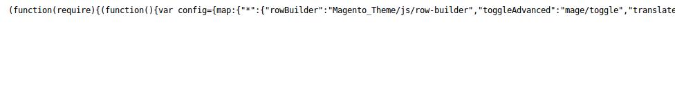 Archivo JS comprimido en Magento2