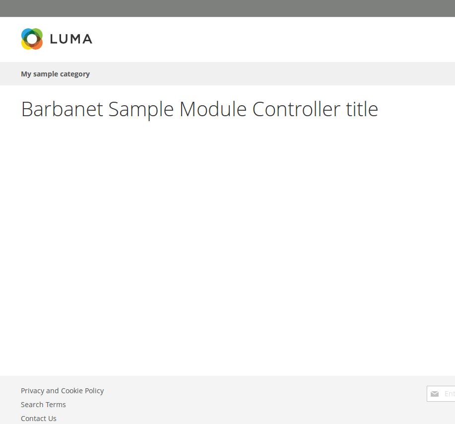 Layout específico para un controller en Magento2