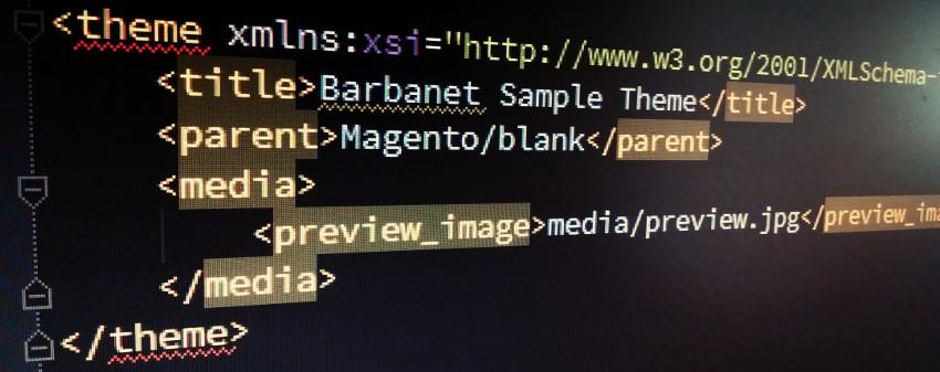 Definición de un theme en Magento2