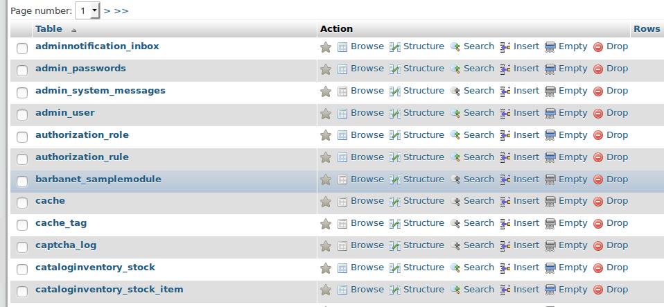 Barbanet_SampleModule instalado vía Composer