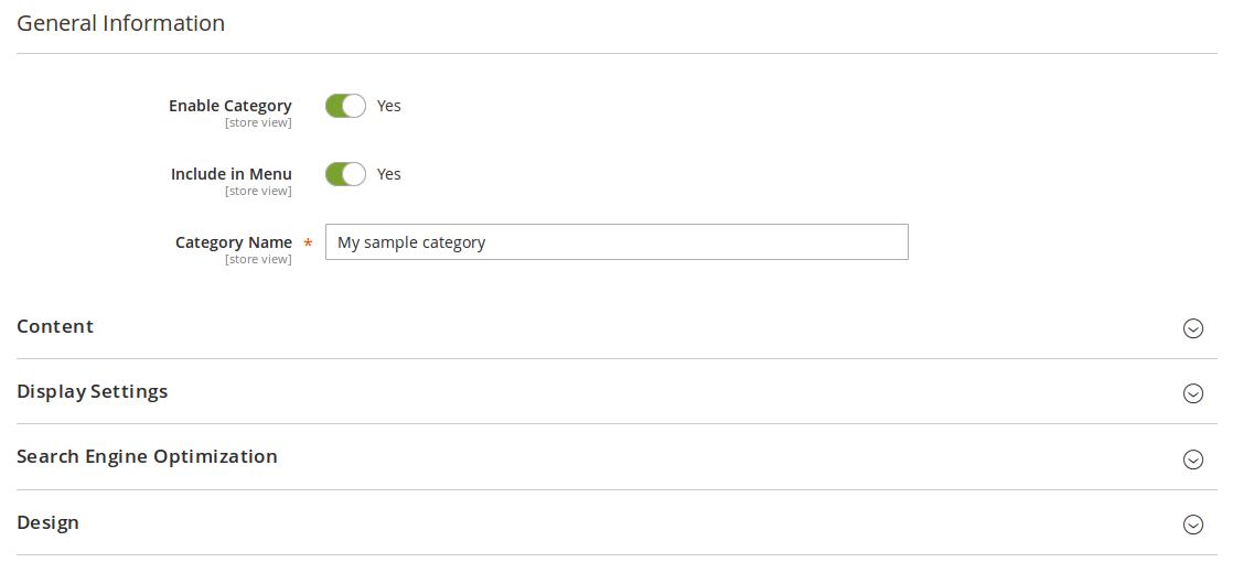 Configuración de cambio programado en Magento2
