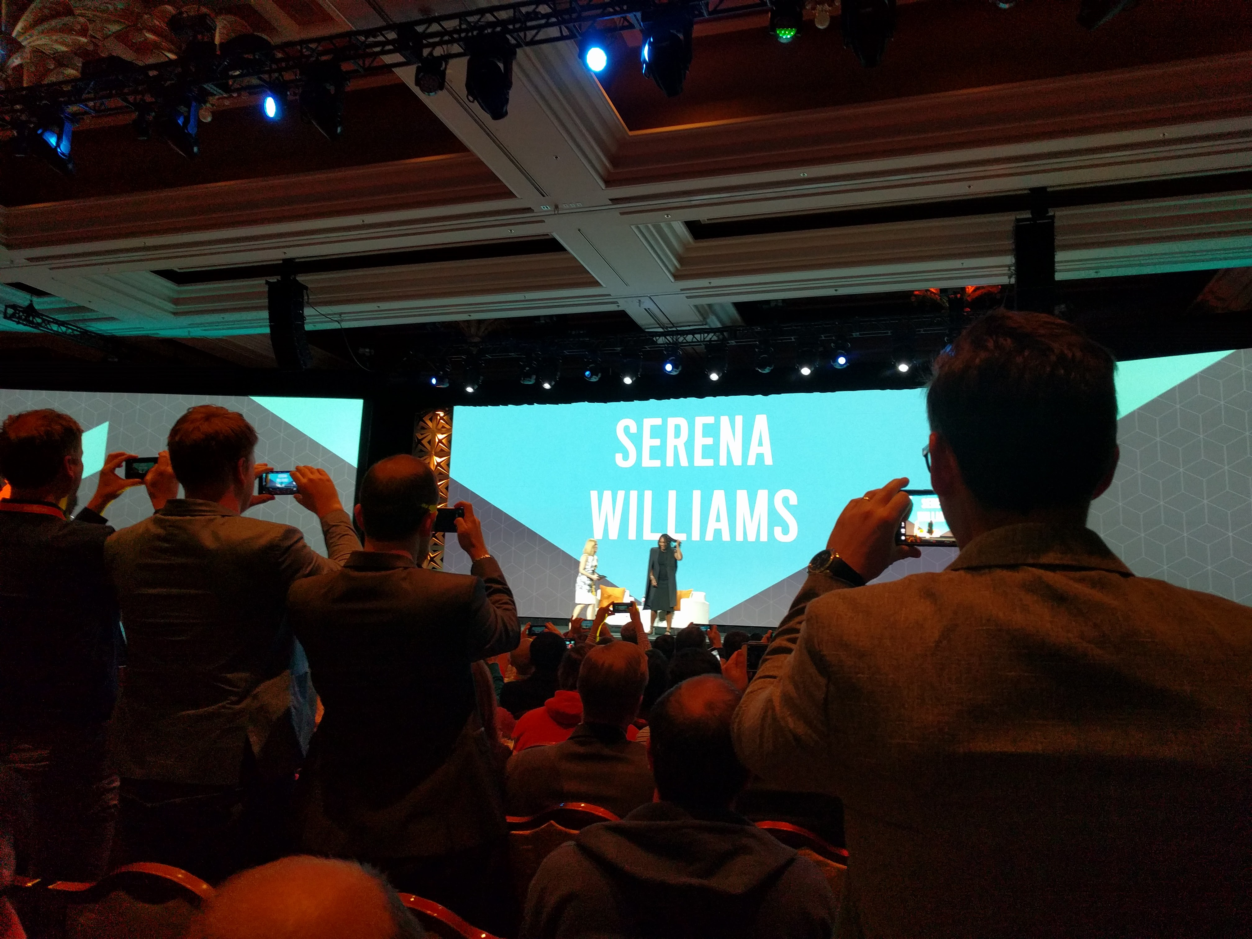Serena Williams en el Magento Imagine 2017