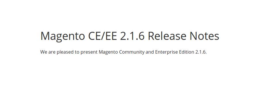 Magento 2.1.6