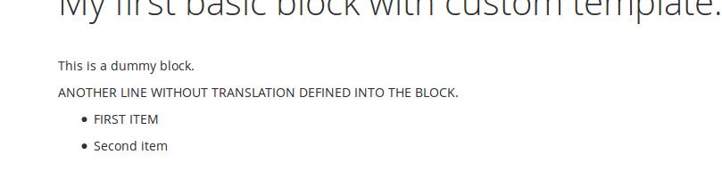 Uso del Helper en el bloque