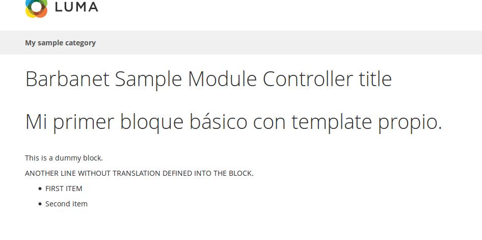 Traducción en nuestro módulo custom