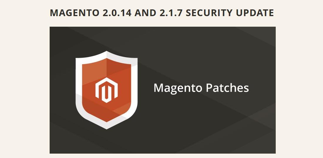 Actualización para Magento2
