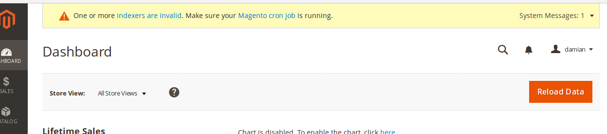 Notificaciones en Magento 2.2