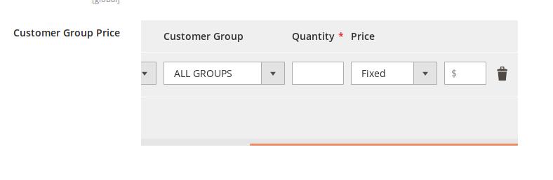 Opciones avanzadas de precios en Magento 2.2