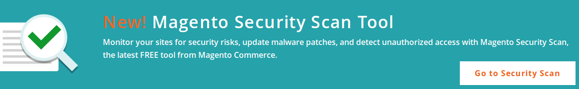 Magento Security Scan