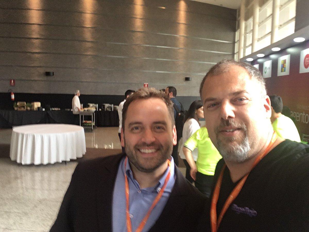 Ben Marks en el Meet Magento Brazil 2017