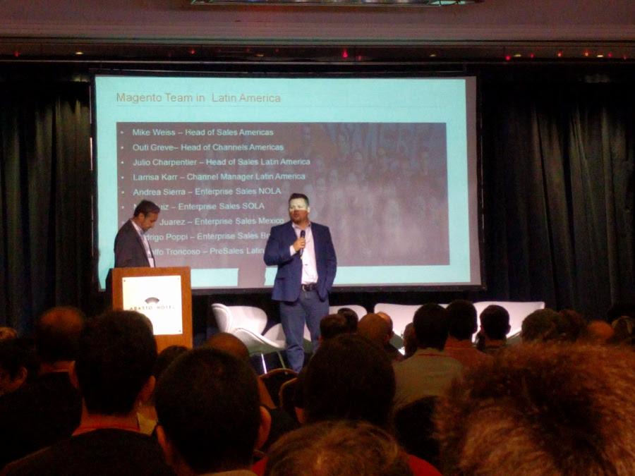 Julio Charpentier y Max Ruiz en el MM17AR