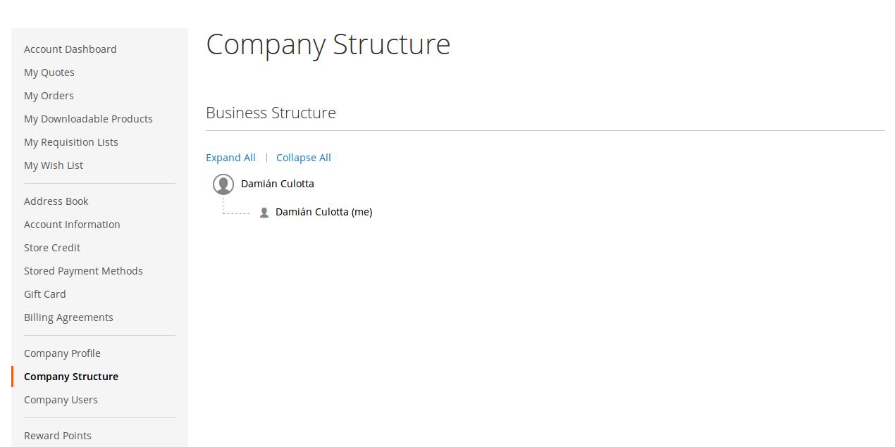 Asociar Cliente a Compañía para B2B